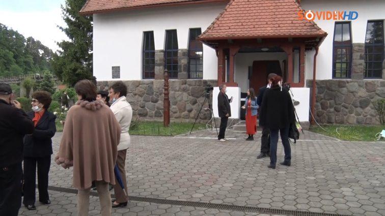 Szabadtéri istentisztelet Szovátán