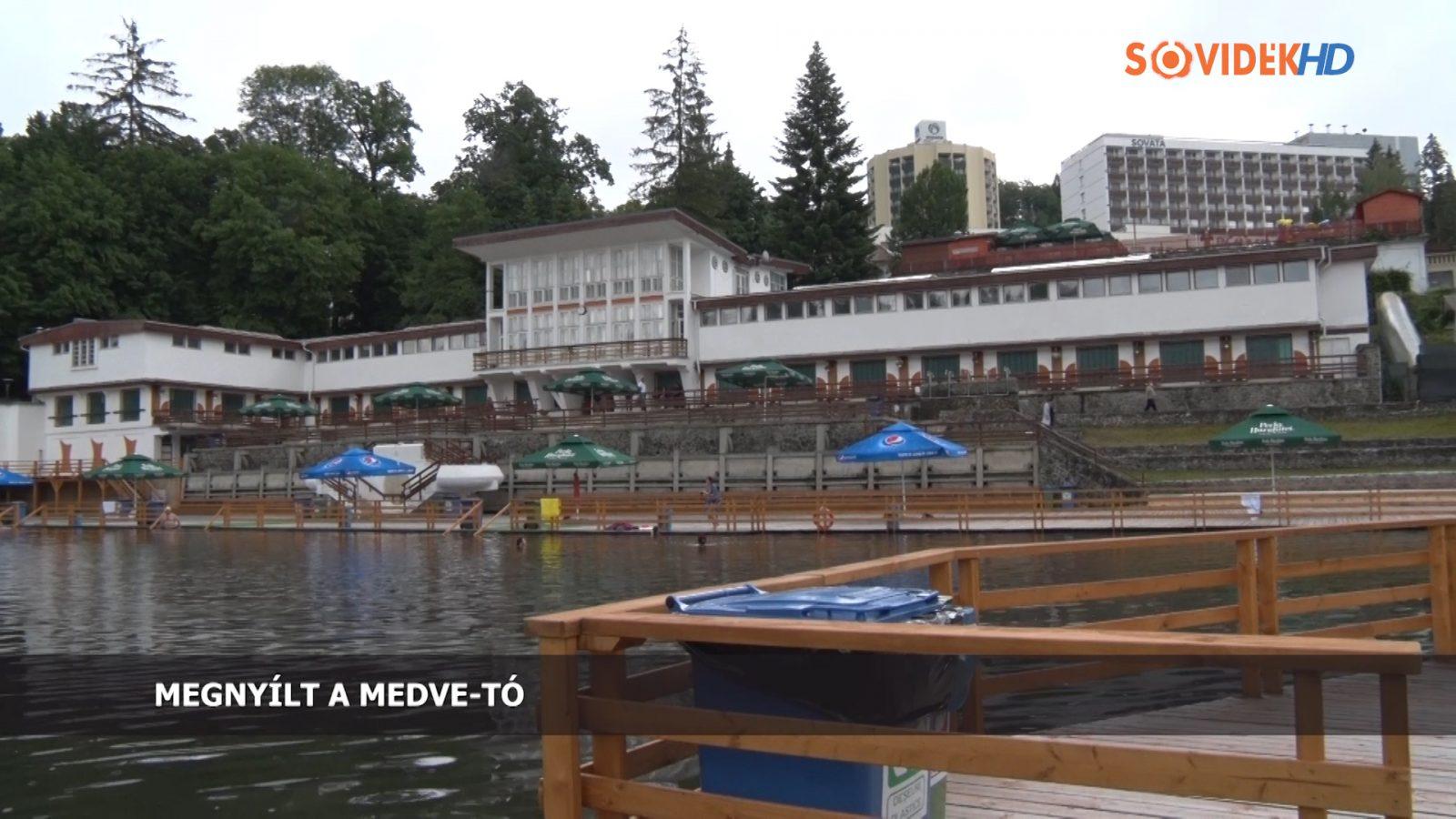 Megnyílt a Medve-tó